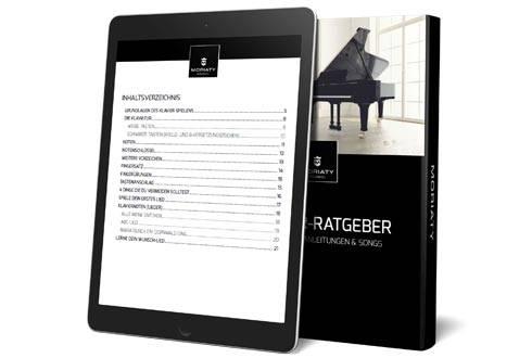 MORIATY Music - Klavier E-Book