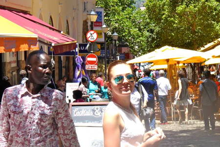 Walking Tour in Cape Town