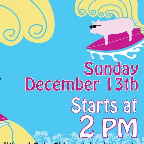 Picture of Come hang out at Celis Brewery for a winter luau - roasted whole pig, limbo competition, grilled pork ribs and chicken, and more!