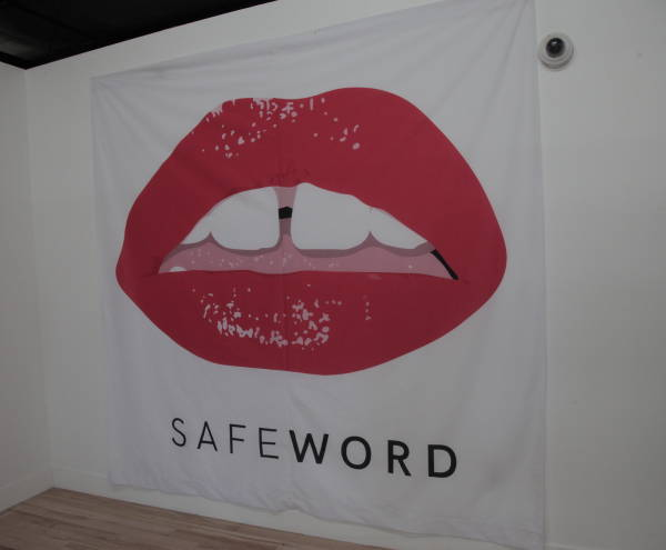 Signs & Banners - Safe Word Banner