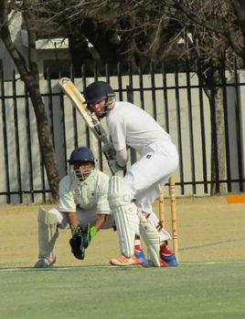 Cricketer James Robinson