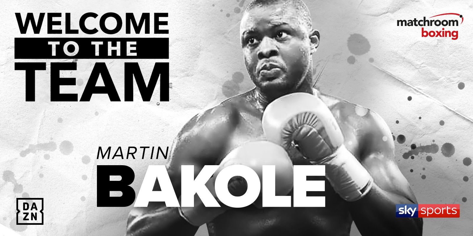 Martin Bakole Signs Promotional Deal With Matchroom Boxing