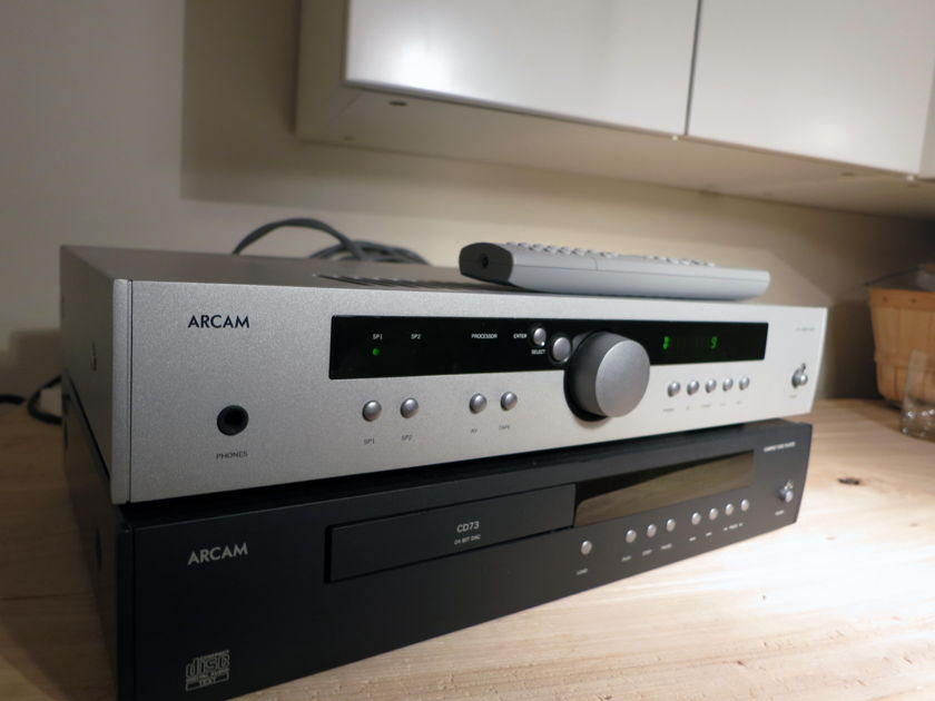 Arcam A70 (silver) intergrated amplifier