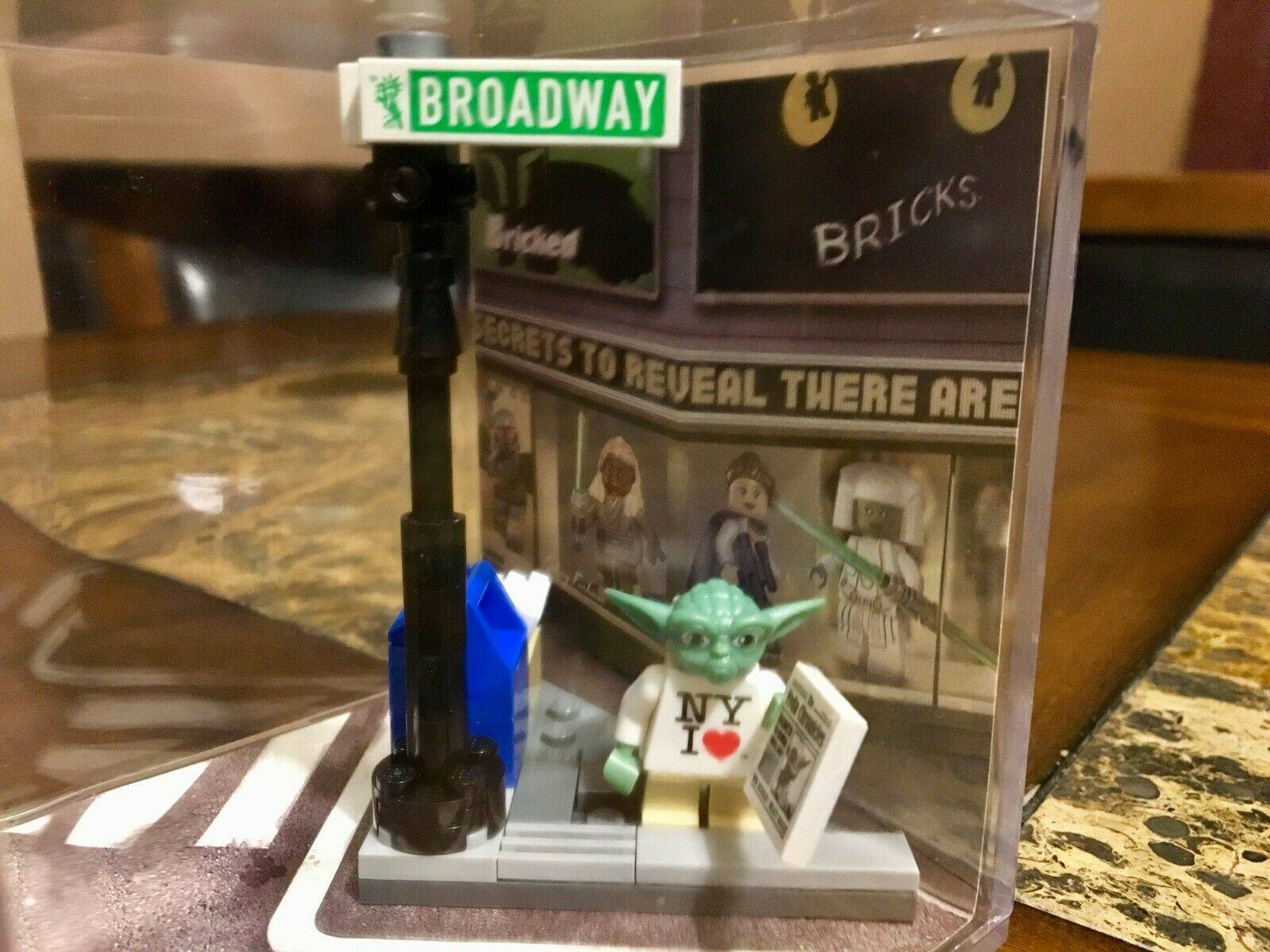 "LEGO Yoda Wearing ""I Love NY"" shirt"