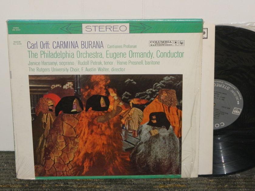 "Eugene Ormandy/Philadelphia Orchestra - Orff ""Carmina Burana"" Columbia MS 6163 '60'ies Pressing w/insert"