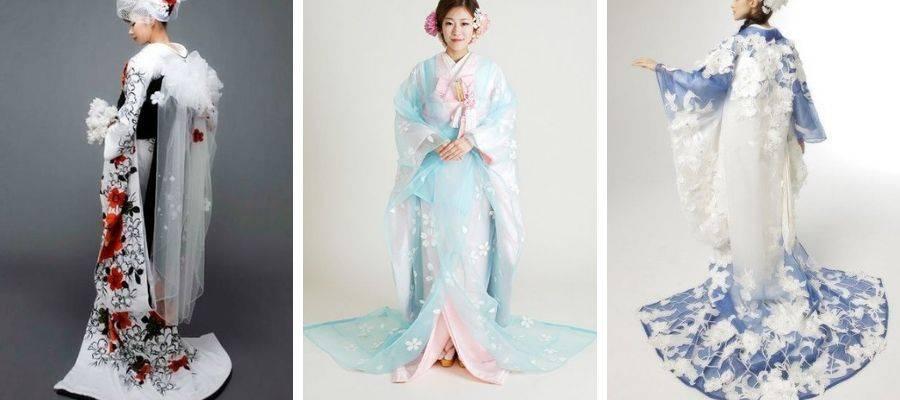 Modern Wedding Kimono Styles