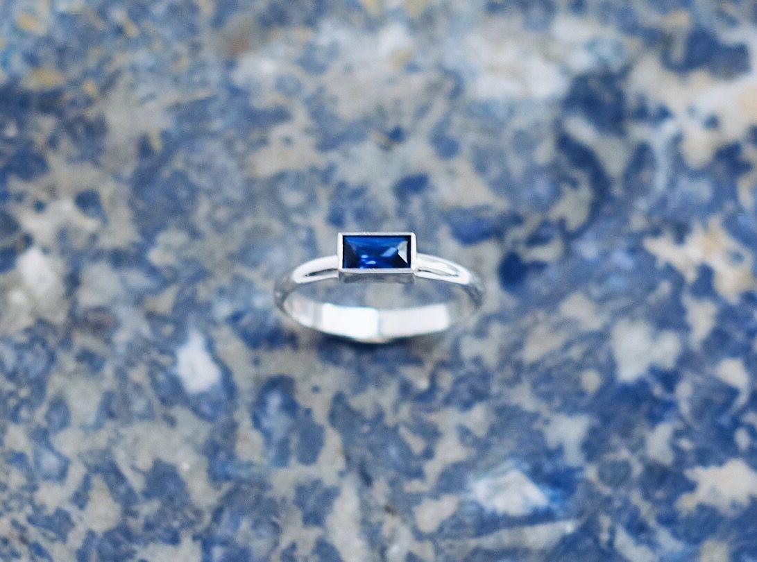 """Серебрянное кольцо """"прямоугольник"""""""