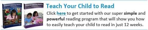 Teach your child to read magic formula