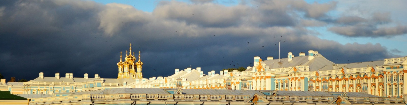 Bus tour to Pushkin (Catherine Palace)