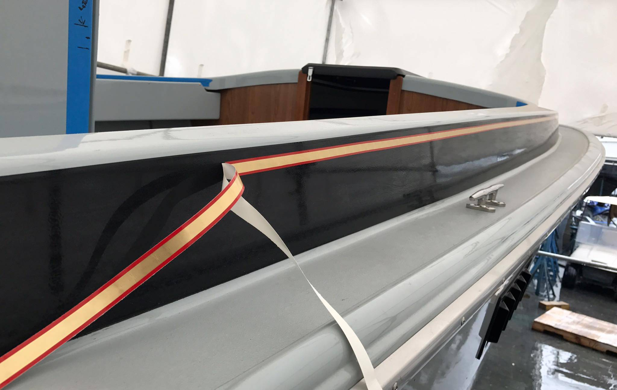 How to apply vinyl pinstriping