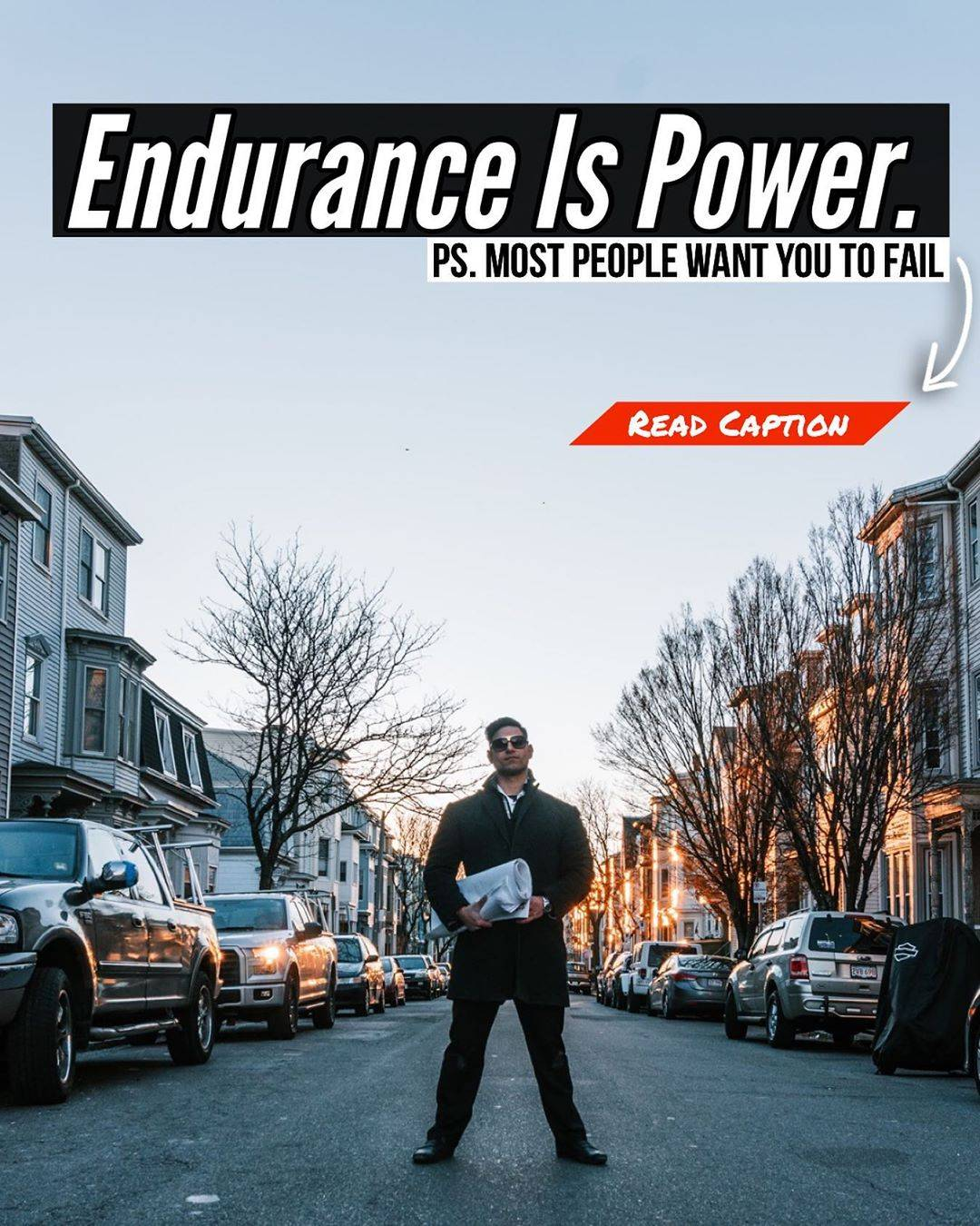 Endurance Is Power. Most People Want You To Fail