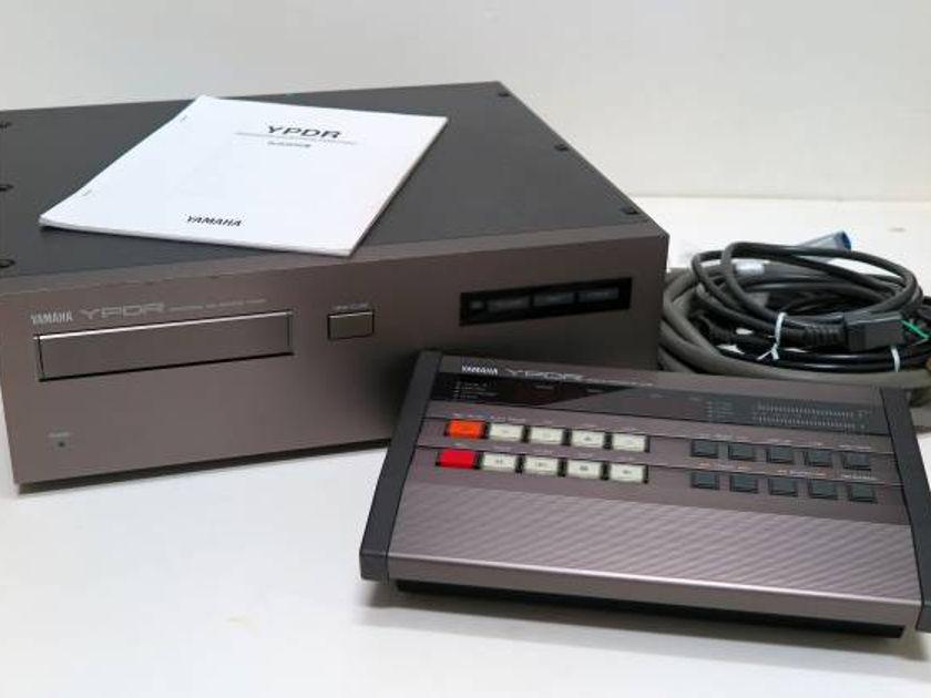 VINTAGE YAMAHA YPDR-601 &RC-601 LIKE PHILIPS CD TRANSPORT RECORDER LHH-2000 PROFESSIONAL CD UNIT