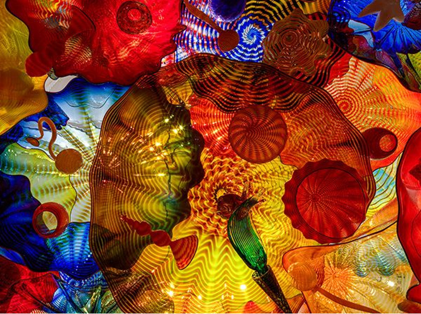 Persian Ceiling artwork by Dale Chihuly