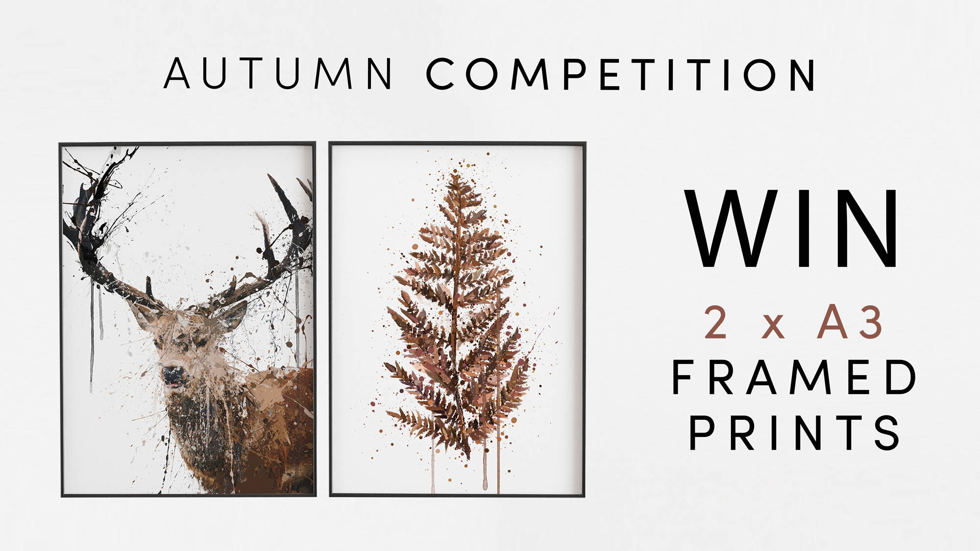 Autumn Competition, Win £100 of We Love Prints Voucher