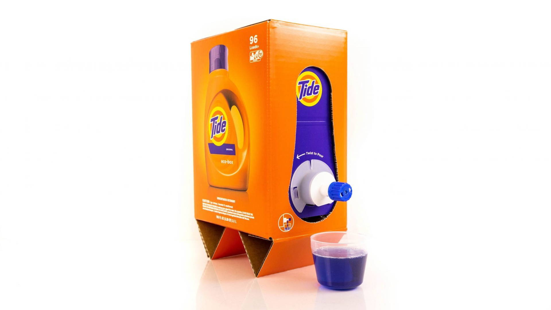 Tide Out Here Making Laundry Detergent Look Like Boxed Wine | Dieline
