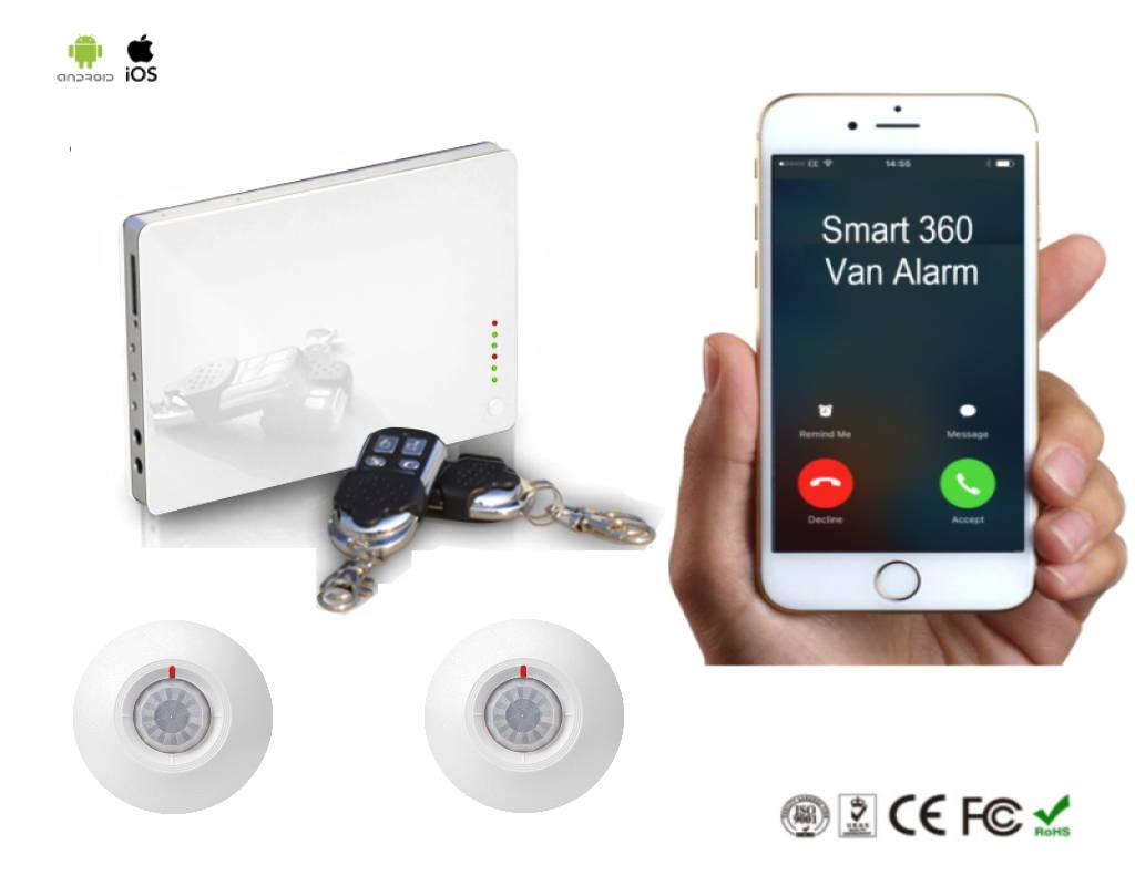 van security alarm
