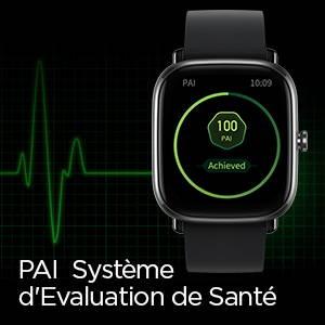 Amazfit GTS 2 mini - Système d'Evaluation de Santé du PAI
