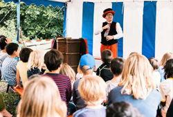 clown zappo zaubershow vor kindern