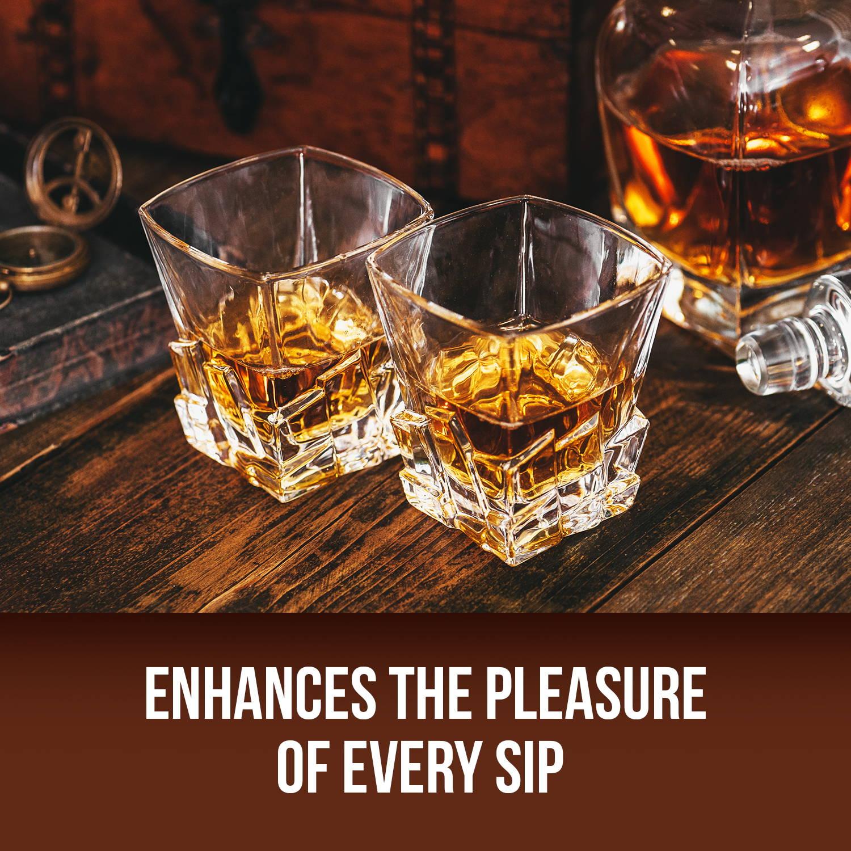 Enhances the pleasure of every sip