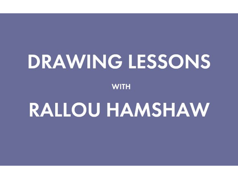 Drawing Lessons with Rallou Hamshaw