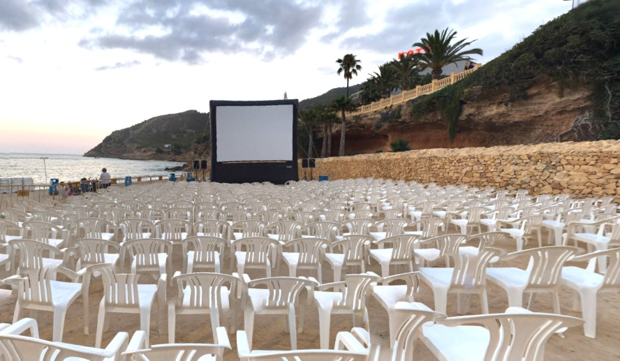 L'Alfàs del Pi - entertainment albir beach films summer evening