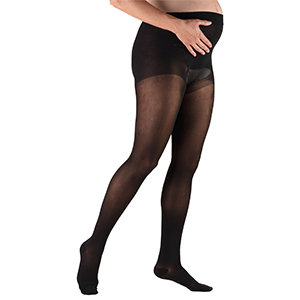 Maternity Pantyhose in Black