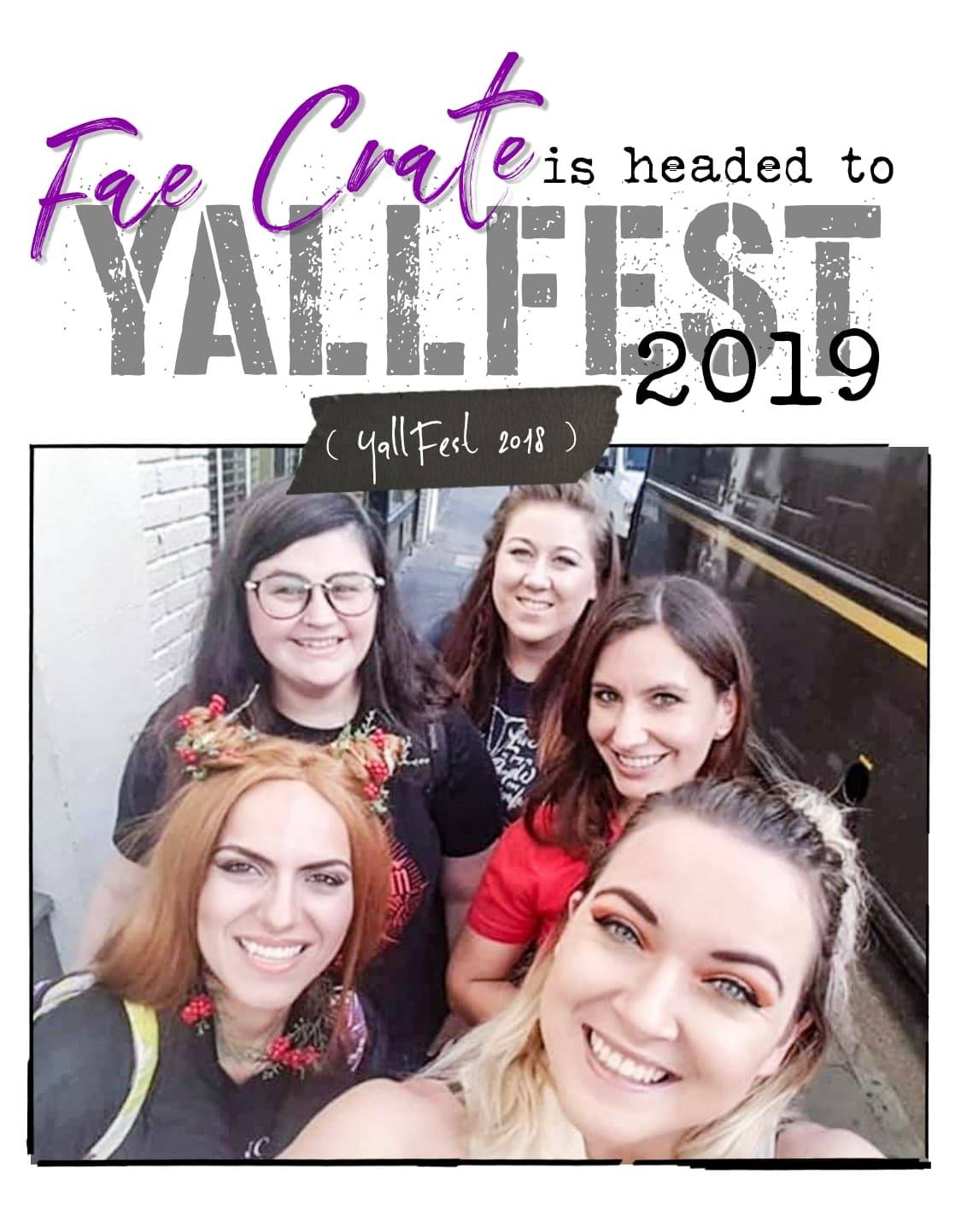 Fae Crate is headed to Yallfest 2019