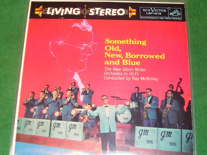 "NEW GLENN MILLER ORCHESTRA - SOMETHING OLD, NEW... - * 1958 BLACK DOG - A2/A1 ""I"" PRESS * LSP-1678 NM"