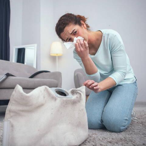 pollution domestique et ménagère