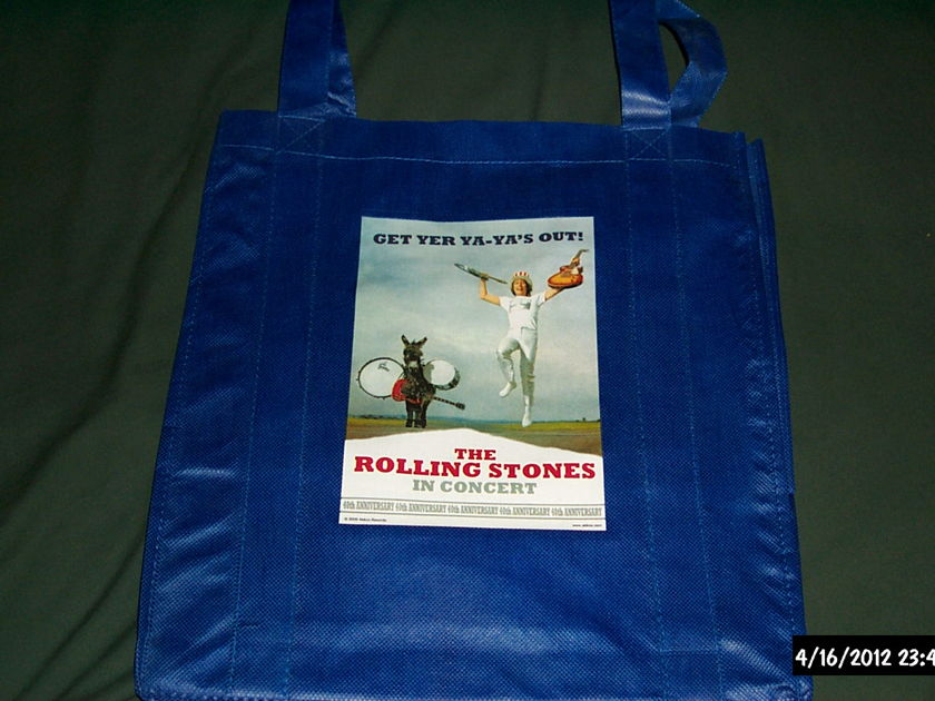 Rolling Stones - Promo Get Yer Ya's Out Promo LP Tote Bag