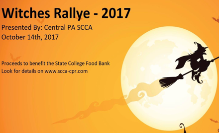2017 SCCA-CPR Witches Rallye