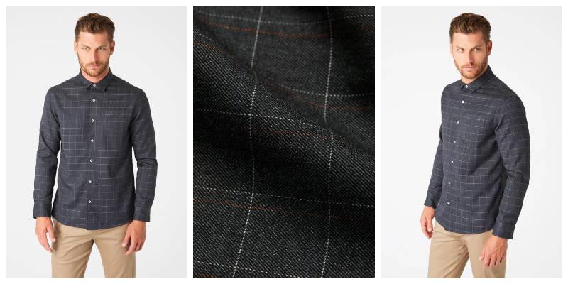 Harley Single Pocket Flannel Shirt