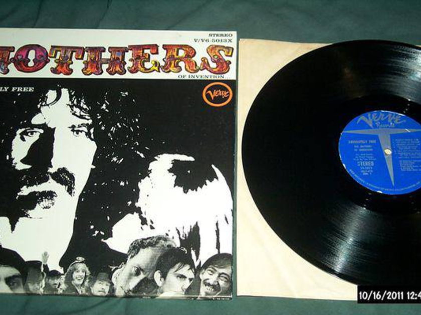 Mothers of invention - Absolutely Free lp nm
