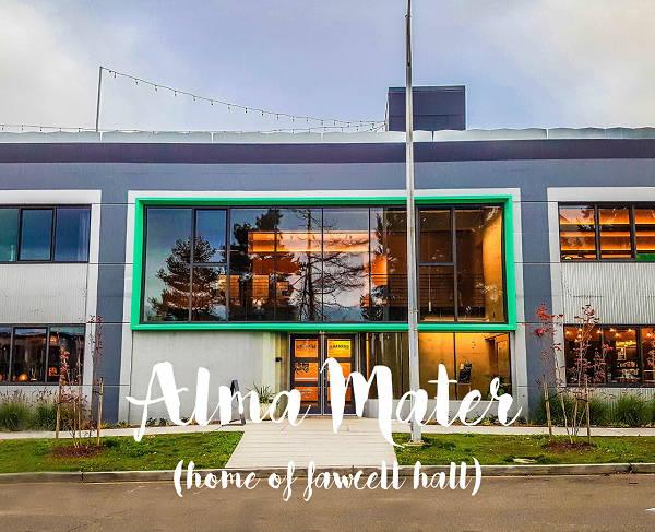 Alma Mater Tacoma, Front Entrance