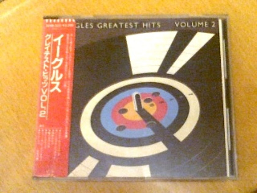 Eagles - Greatest Hits - Volume 2 (Japan 1st edition, glued OBI, no UPC)