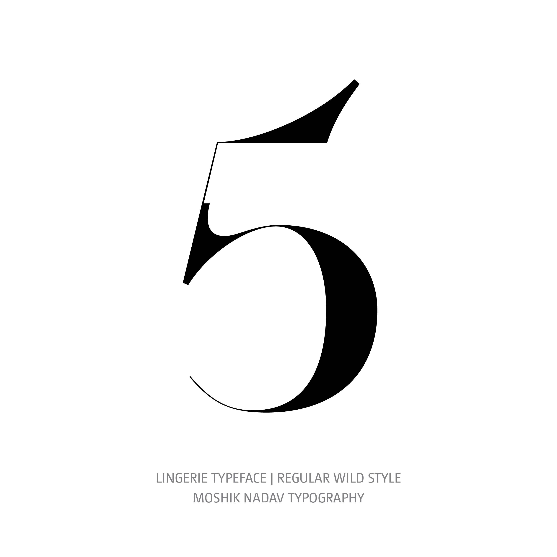 Lingerie Typeface Regular Wild 5