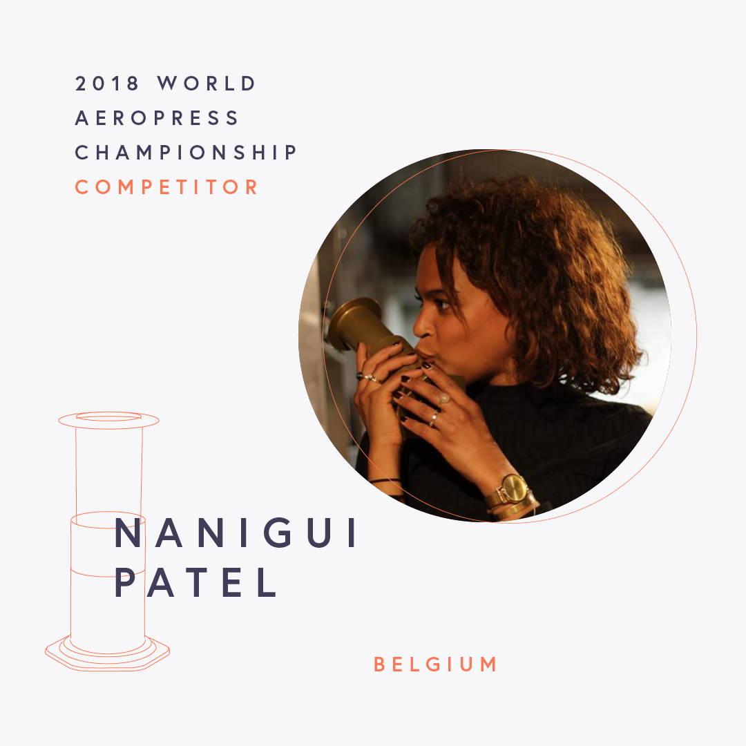 The World AeroPress Championships: Nanigui Patel