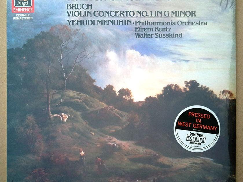 Sealed EMI Digital | MENUHIN/MENDELSSOHN - & BRUCH Violin Concertos / German Pressing
