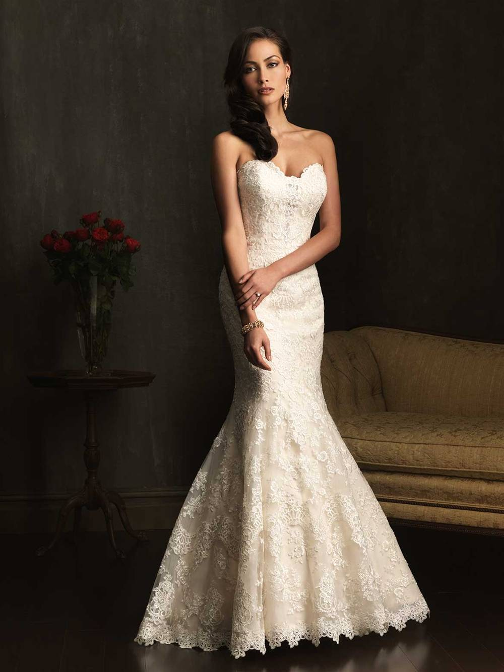ALLURE  WEDDING DRESS 9072