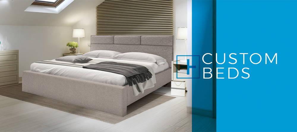 Custom Beds, Headboards, Storage Beds, Upholstered Beds, Mattresses ...