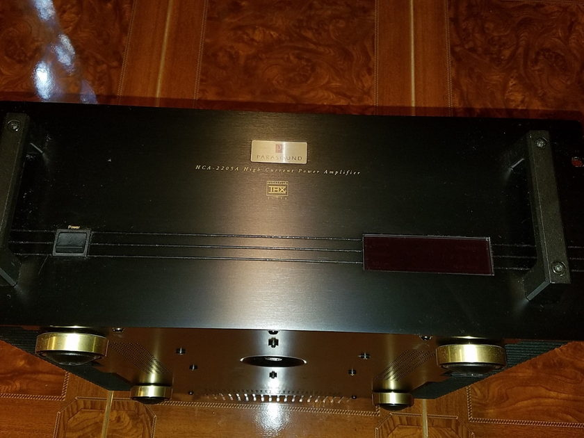 Parasound HCA-2205a Great Home Theater Amp