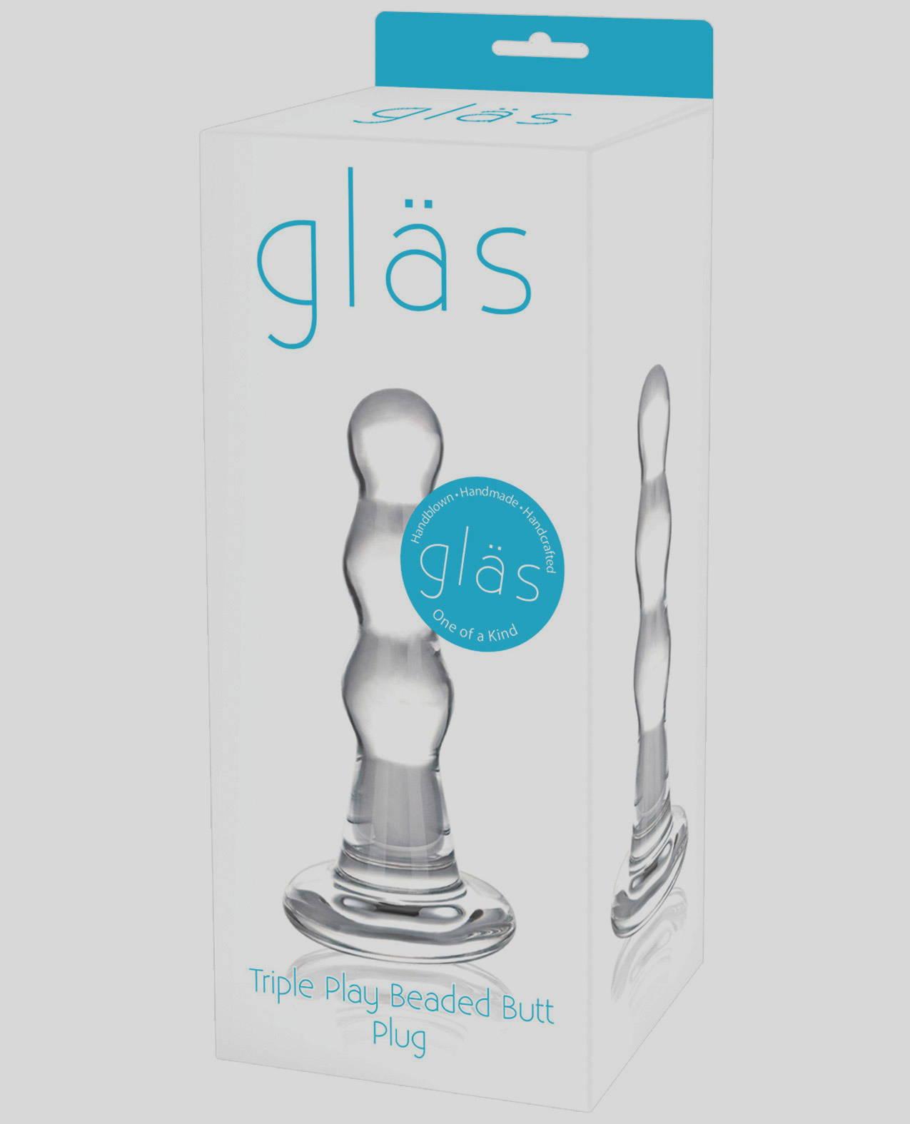 glas beaded plug