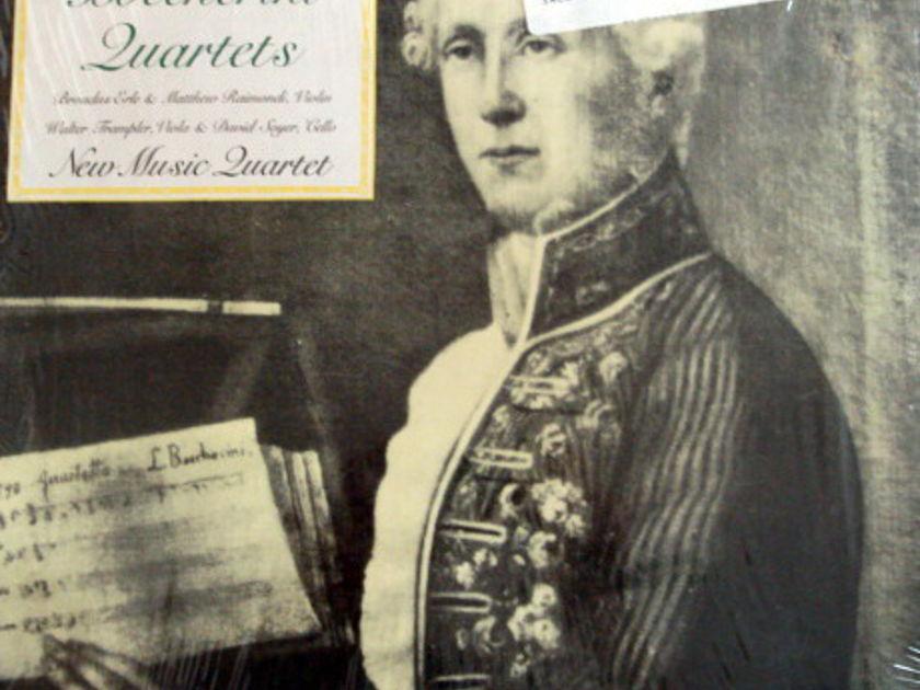 ★Sealed★ Columbia /  - NEW MUSIC QT, Boccherini String Quartets!