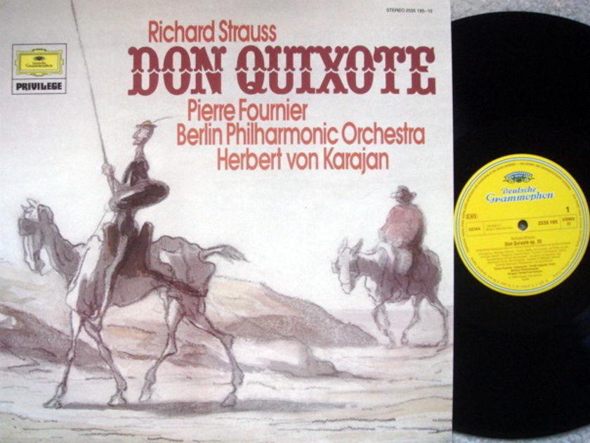 DG / FOURNIER-KARAJAN, - R. Strauss Don Quixote, NM!
