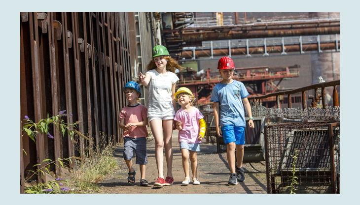 stiftung zollverein kinder bei der zeche