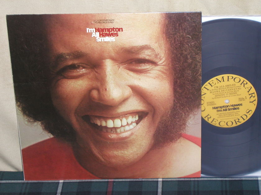 Hampton Hawes - I'm All Smiles Contemporary S76317 Stereo