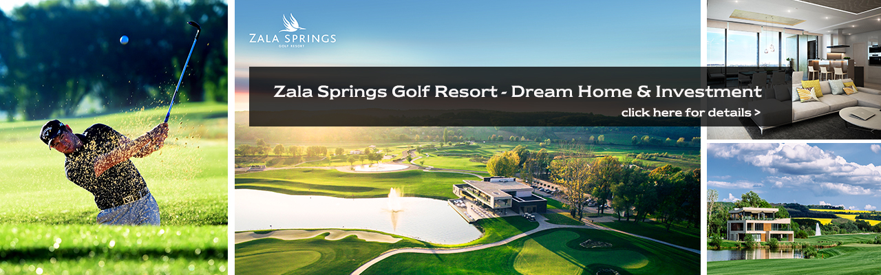 Budapest - Zala Springs Golf Resort Luxury apartments