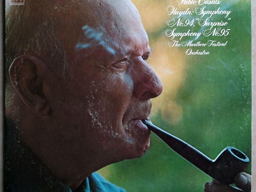COLUMBIA/Casals/HAYDN - Symphonies Nos. 94 & 95 / NM