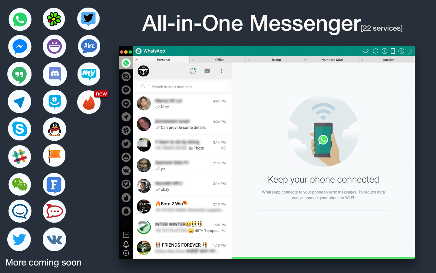 instant messenger apps for mac