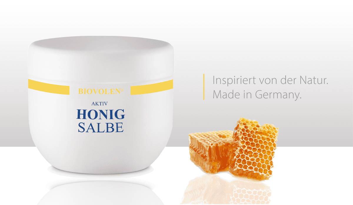 Biovolen Honigsalbe gegen unreine Haut